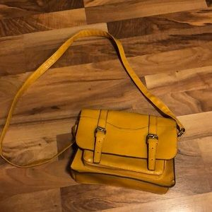 Mustard colored bag